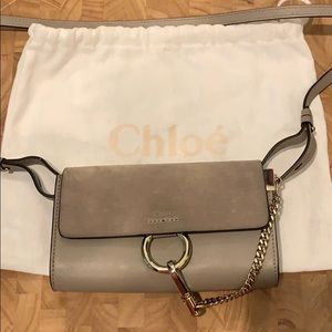 Authentic Chloe Small Faye Cross-Body Bag